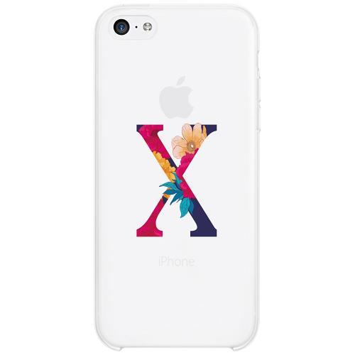 Apple iPhone 5c Firm Case Bokstaven - X