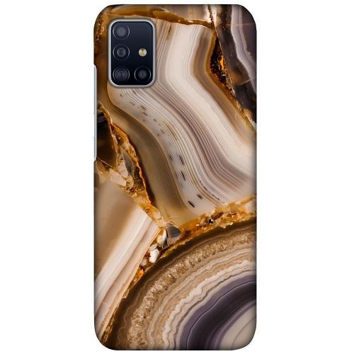Samsung Galaxy A51 LUX Mobilskal (Matt) Amber Agate
