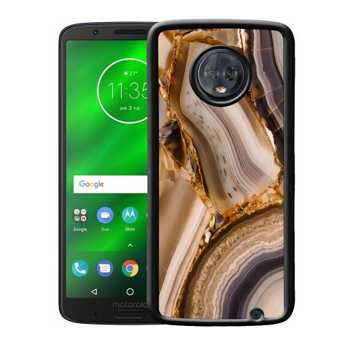 Motorola Moto G6 Plus Mobilskal Amber Agate