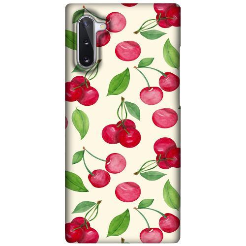 Samsung Galaxy Note 10 LUX Mobilskal (Matt) Cherry Etiquette