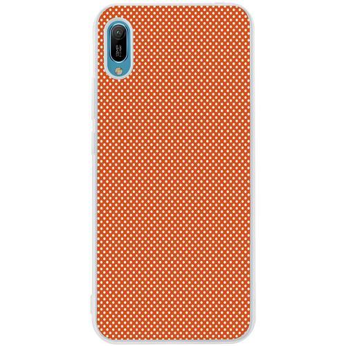 Huawei Y6 (2019) Mobilskal Orange Droplets