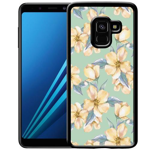 Samsung Galaxy A8 (2018) Mobilskal Waterproof Flowers