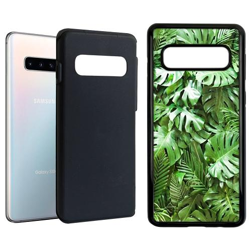 Samsung Galaxy S10 Duo Case Svart Green Conditions