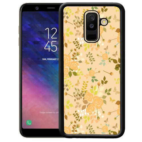 Samsung Galaxy A6 Plus (2018) Mobilskal Flowery Tapestry