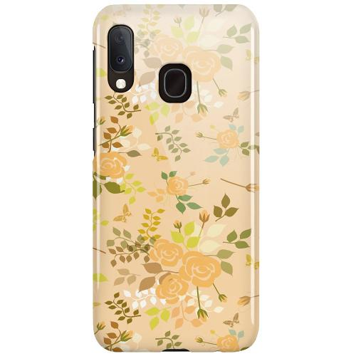 Samsung Galaxy A20e LUX Mobilskal (Glansig) Flowery Tapestry