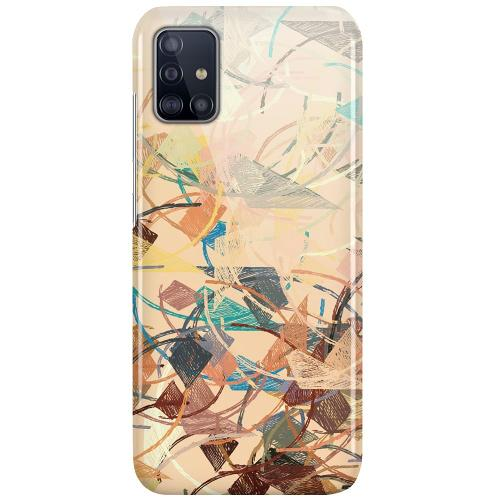 Samsung Galaxy A51 LUX Mobilskal (Glansig) Colourful Expectations