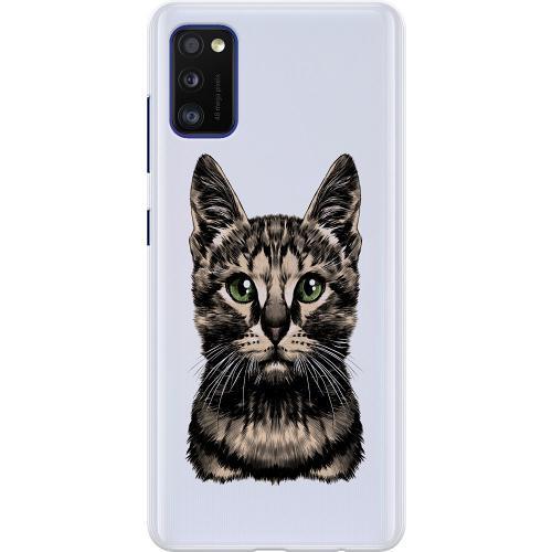 Samsung Galaxy A41 Thin Case Katt