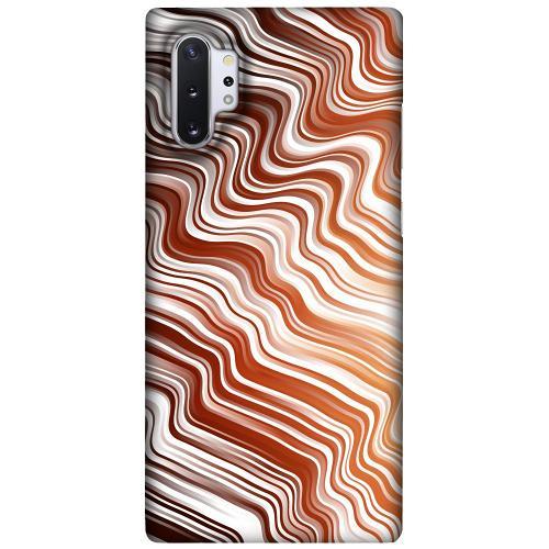 Samsung Galaxy Note 10 Plus LUX Mobilskal (Matt) Distorted Soundwaves