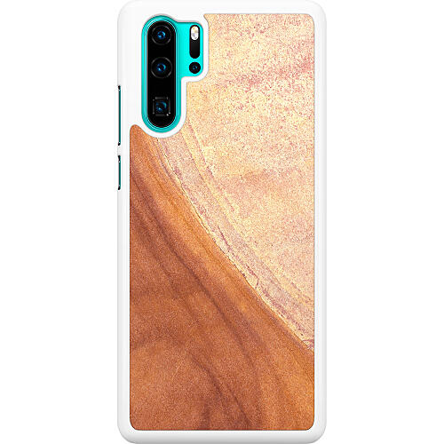 Huawei P30 Pro Hard Case (White) Microscopic Prospect