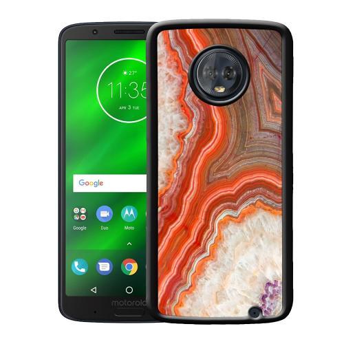 Motorola Moto G6 Plus Mobilskal Molten Dispersal