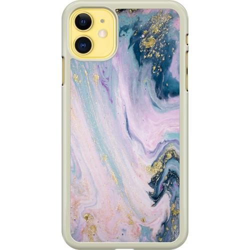 Apple iPhone 11 Hard Case (Transparent) Bubble Bath