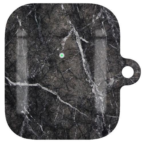 AirPods LUX Case (Glansig) - Marmor Svart
