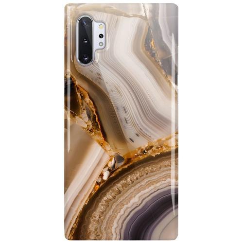 Samsung Galaxy Note 10 Plus LUX Mobilskal (Glansig) Amber Agate