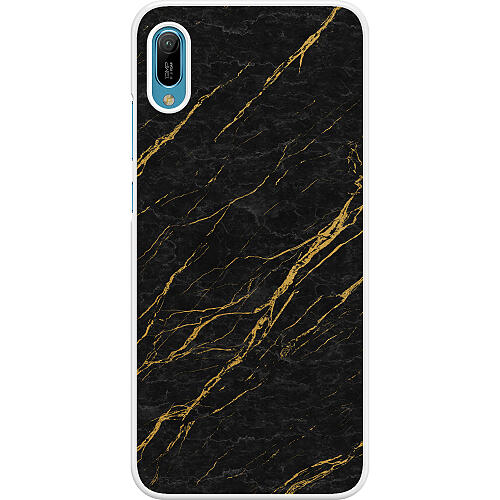 Huawei Y6 (2019) Hard Case (White) Stormy Circumstances