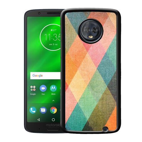 Motorola Moto G6 Plus Mobilskal Colours on Vectors