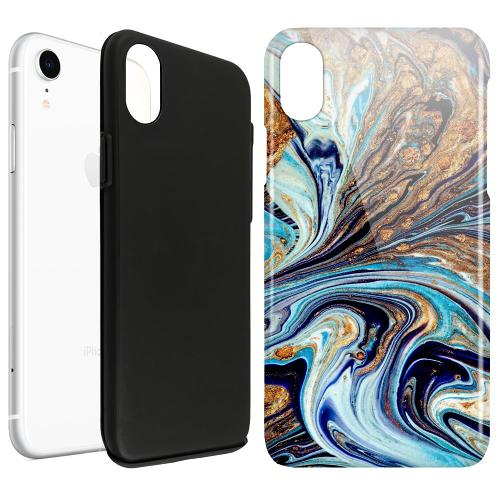 Apple iPhone XR LUX Duo Case Timeslip