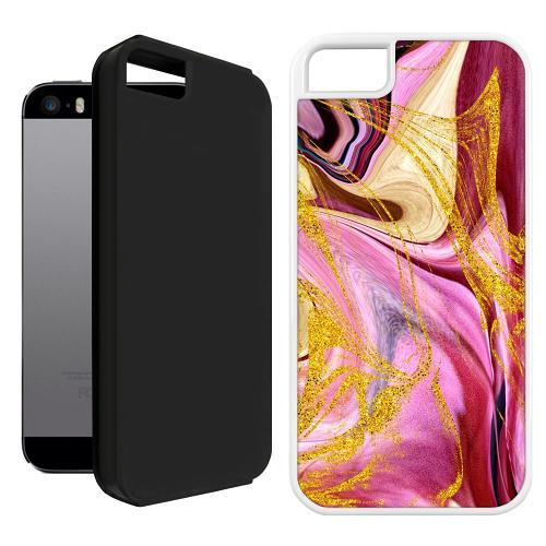 Apple iPhone 5 / 5s / SE Duo Case Svart Impulsive Changes