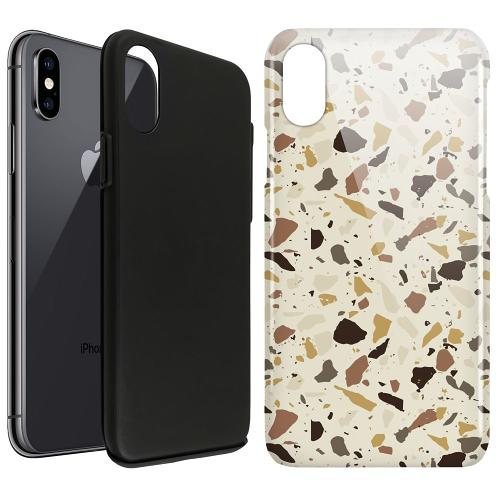 Apple iPhone X / XS LUX Duo Case It's Tile