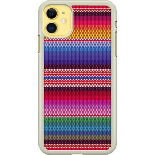 Apple iPhone 11 Hard Case (Transparent) Vivid Tapestry