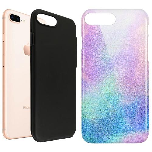 Apple iPhone 8 Plus LUX Duo Case Frosted Lavender