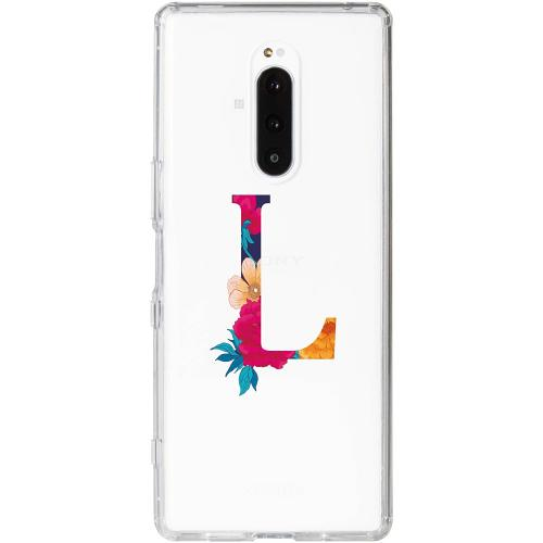 Sony Xperia 1 Thin Case Bokstaven - L