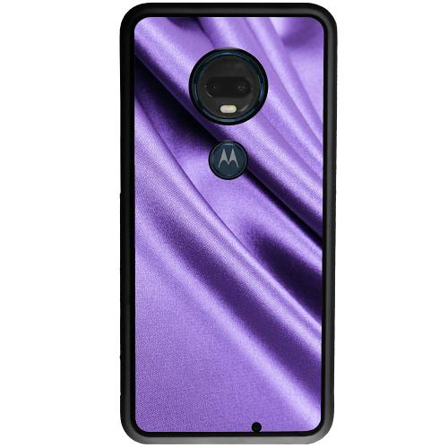 Motorola Moto G7 Plus Mobilskal Silky Lavendel