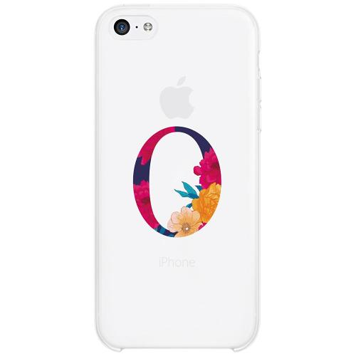 Apple iPhone 5c Firm Case Bokstaven - O