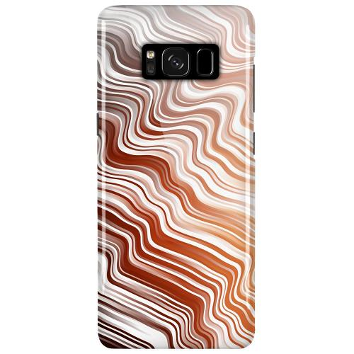 Samsung Galaxy S8 Plus LUX Mobilskal (Glansig) Distorted Soundwaves