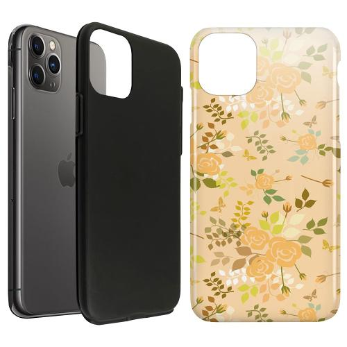 Apple iPhone 11 Pro Max LUX Duo Case Flowery Tapestry