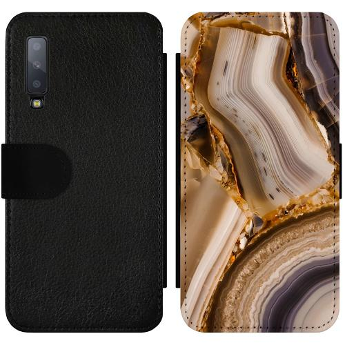 Samsung Galaxy A7 (2018) Wallet Slimcase Amber Agate