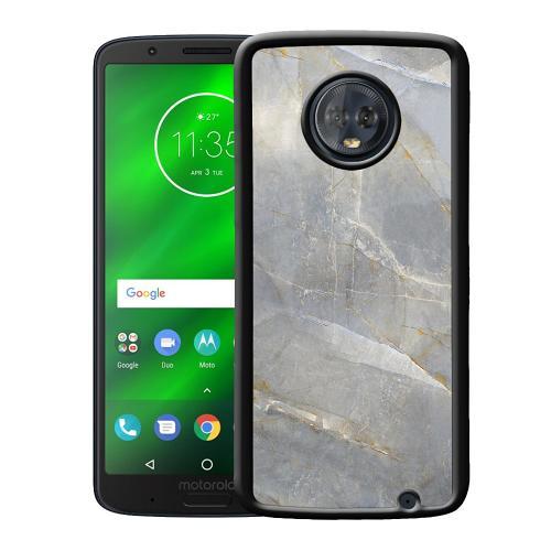 Motorola Moto G6 Plus Mobilskal Coarse Stone