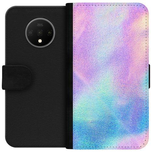 OnePlus 7T Plånboksfodral Frosted Lavendel