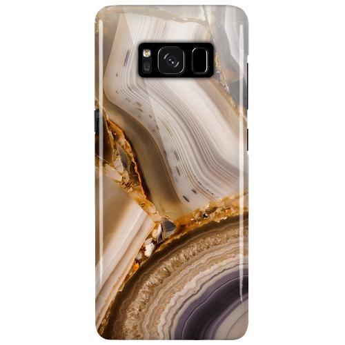 Samsung Galaxy S8 Plus LUX Mobilskal (Glansig) Amber Agate