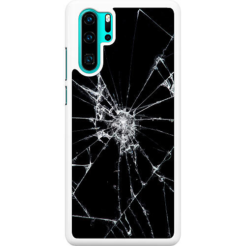 Huawei P30 Pro Hard Case (White) Crushed Hope