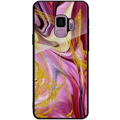 Samsung Galaxy S9 Mobilskal med Glas Impulsive Changes