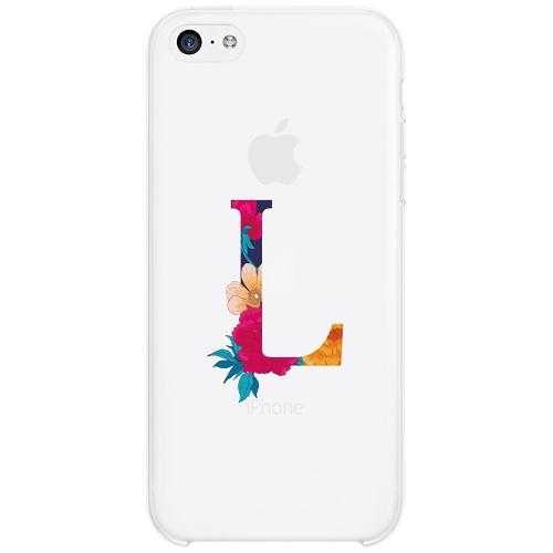 Apple iPhone 5c Firm Case Bokstaven - L
