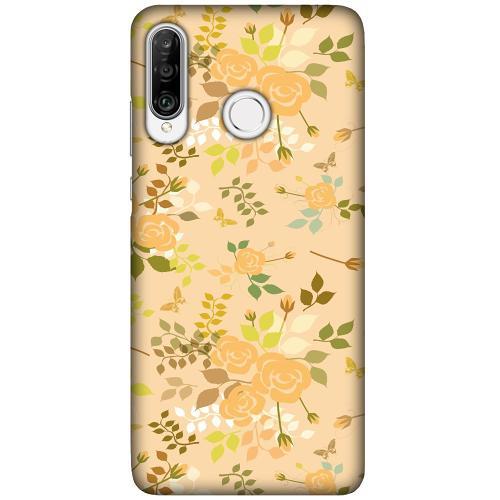 Huawei P30 Lite LUX Mobilskal (Matt) Flowery Tapestry