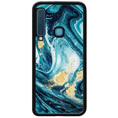 Samsung Galaxy A9 (2018) Mobilskal Golden Lavation