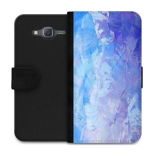 Samsung Galaxy J5 Plånboksfodral Pristine Pastel Strokes