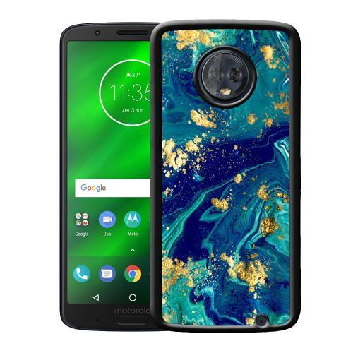 Motorola Moto G6 Plus Mobilskal Golden Disarray