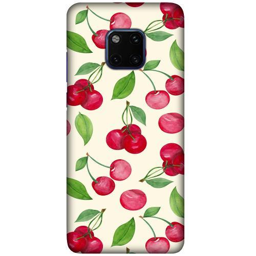 Huawei Mate 20 Pro LUX Mobilskal (Matt) Cherry Etiquette