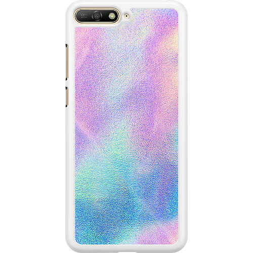 Huawei Y6 (2018) Hard Case (White) Frosted Lavender