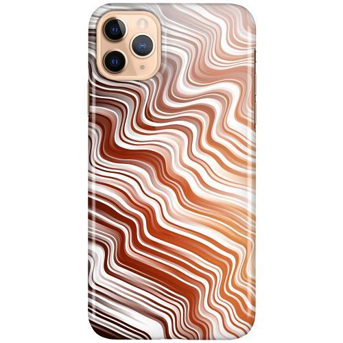 Apple iPhone 11 Pro Max LUX Mobilskal (Glansig) Distorted Soundwaves