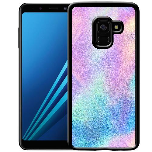 Samsung Galaxy A8 (2018) Mobilskal Frosted Lavendel