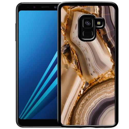 Samsung Galaxy A8 (2018) Mobilskal Amber Agate
