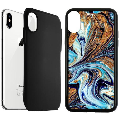 Apple iPhone XS Max Duo Case Svart Timeslip