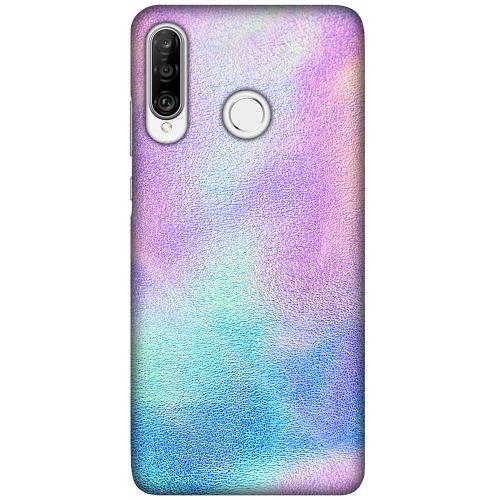 Huawei P30 Lite LUX Mobilskal (Matt) Frosted Lavender