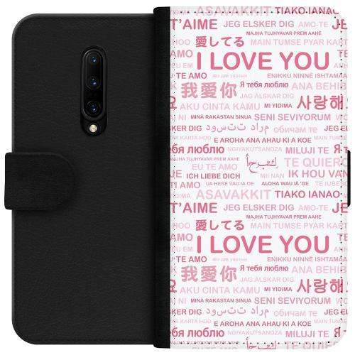 OnePlus 7T Pro Plånboksfodral International Love