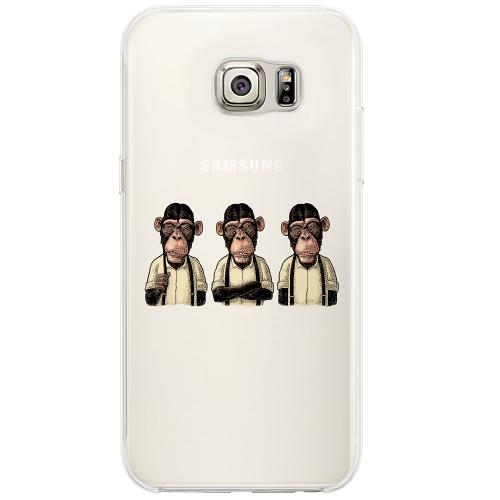 Samsung Galaxy S6 Edge Firm Case Monkeys