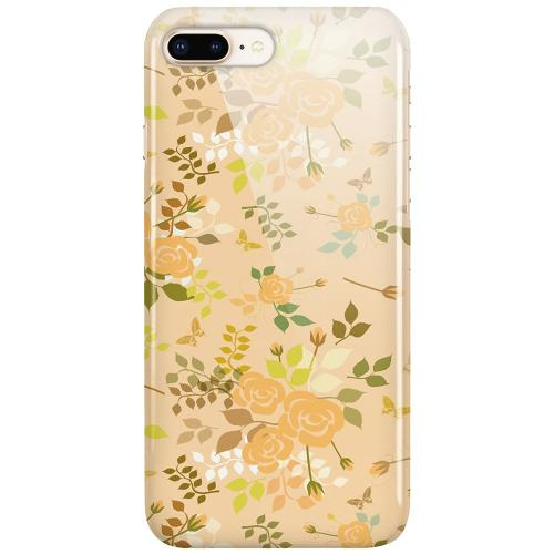 Apple iPhone 8 Plus LUX Mobilskal (Glansig) Flowery Tapestry